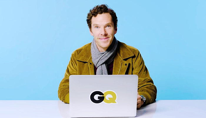 Benedict Cumberbatch Goes Undercover on The Internet