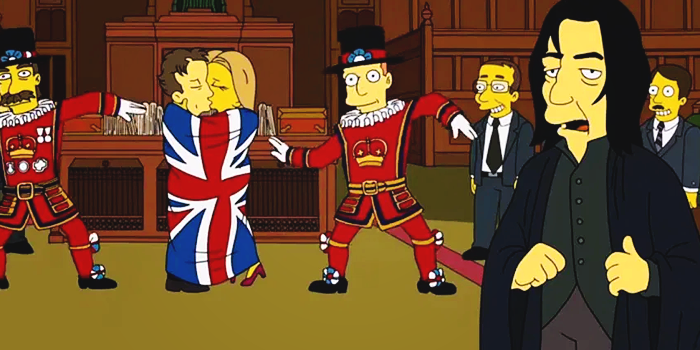 Benedict to feature in an upcoming episode of 'The Simpsons'